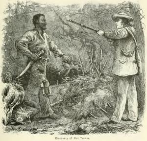 """Discovery of Nat Turner."" Engraving by William Henry Shelton."